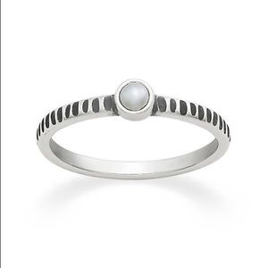 James Avery Tiny Cultured Pearl Ring